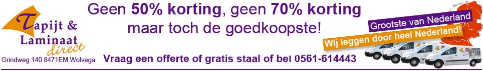laminaat vloeren laten leggen door heel Nederland