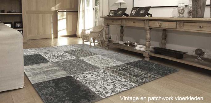 Vintage & Patchwork - Karpetten & vloerkleden online bestellen!
