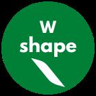 W shape