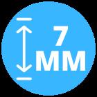 7 mm dik laminaat