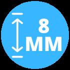 8 mm dik laminaat