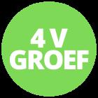 4V groef laminaat