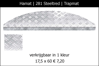 Hamat Steelred Trapmat