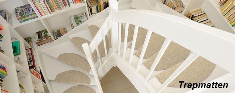 Trapmatten en halve trapmaantjes