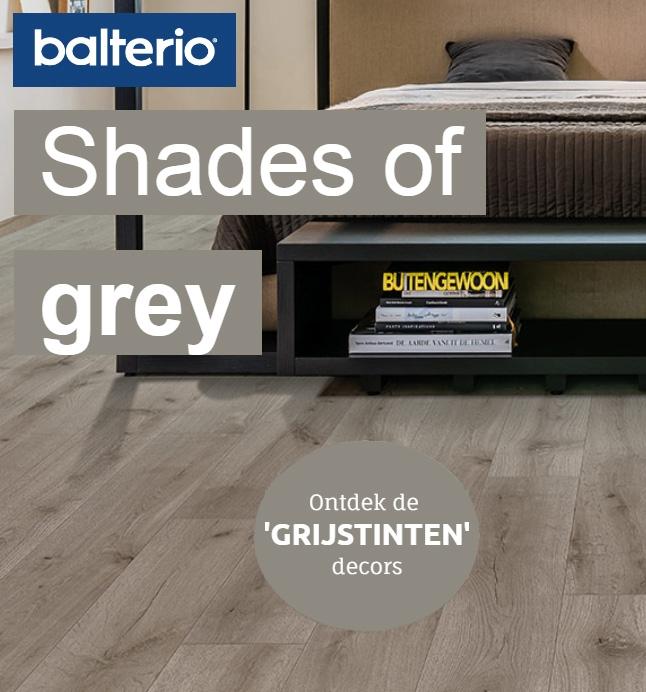 Ontdek de nieuwe grijstinten van Balterio