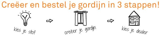 Gordijnen op maat A house of happiness van Vriesco online bestellen ...