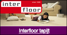 Interfloor tapijt