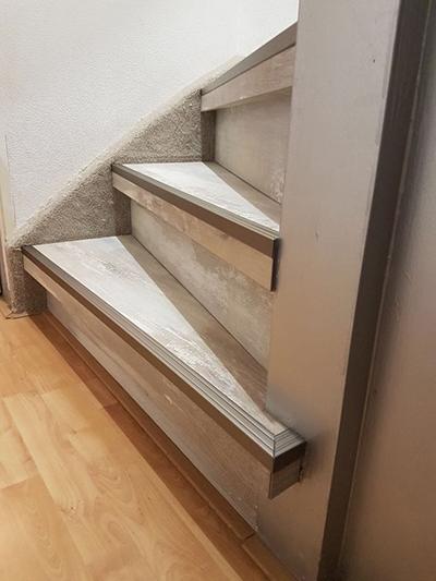 Laminaat op de trap