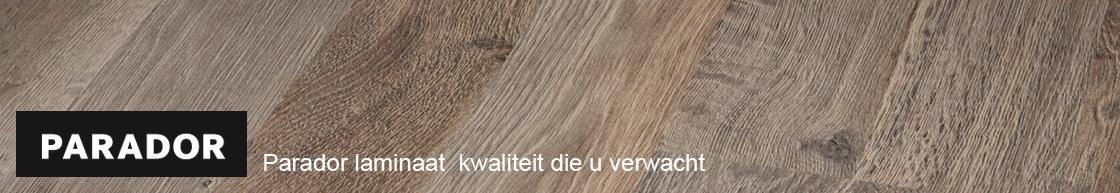 Parador laminaat vloeren inclusief gratis leggen, ondervloer en plakplinten door heel NL