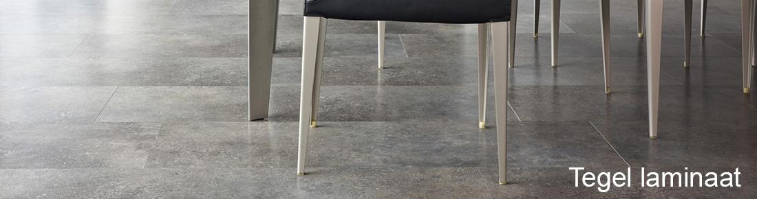Tegel laminaat, plavuizen vloer voor in de keuken, gang of woonkamer